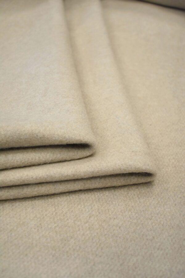 Джерси шерсть бежевый оттенок с ворсом (7645) - Фото 11