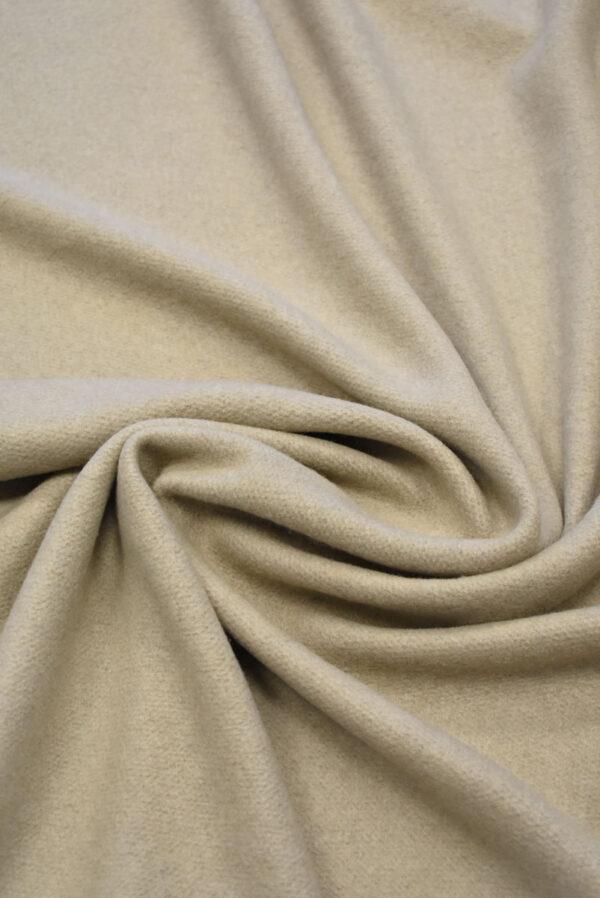 Джерси шерсть бежевый оттенок с ворсом (7645) - Фото 8