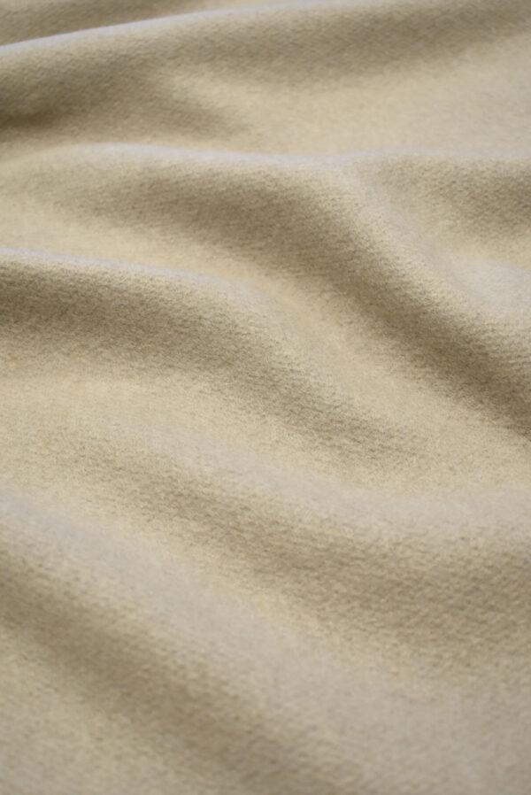 Джерси шерсть бежевый оттенок с ворсом (7645) - Фото 6