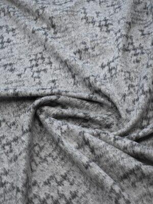 Пальтовая шерсть с ворсом серый меланж (7726) - Фото 17
