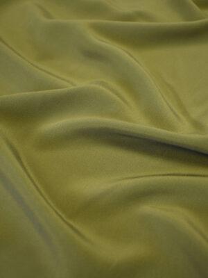 Крепдешин шелк оливковый оттенок (7770) - Фото 13
