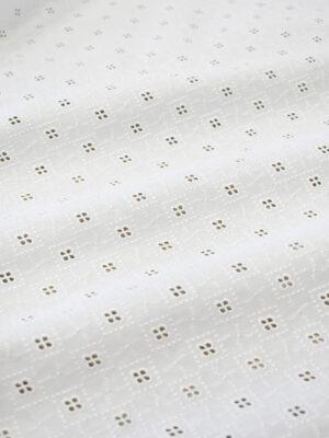 Шитье белого цвета с ромбами (7782) - Фото 11