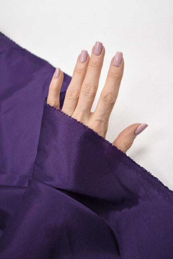 Подклад стрейч фиолетового оттенка (7785) - Фото 10