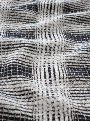 Джерси в черно-белую клетку (7808) - Фото 14