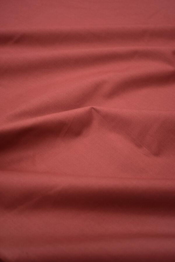 Хлопок стрейч рубашечный бордо (7967) - Фото 6