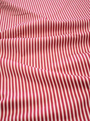 Джинс стрейч в красно-белую полоску (8100) - Фото 8