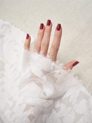 Органза белая с вышивкой филькупе (8112) - Фото 18