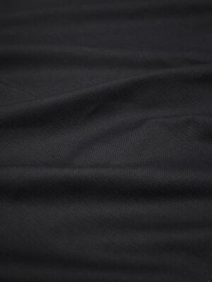Рогожка летняя черная (8189) - Фото 9