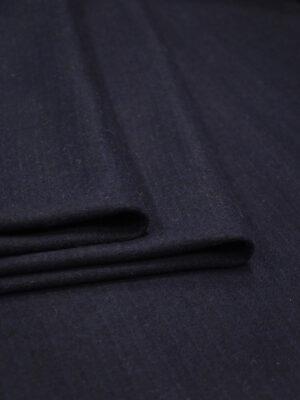 Джерси шерсть темно-синий в полоску (8607) - Фото 12