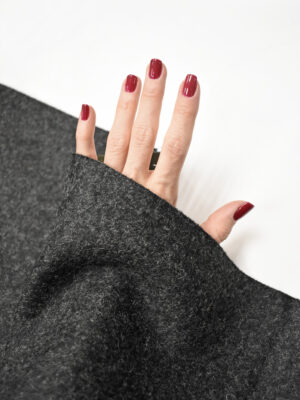 Твид неопрен темно-серый (8609) - Фото 15