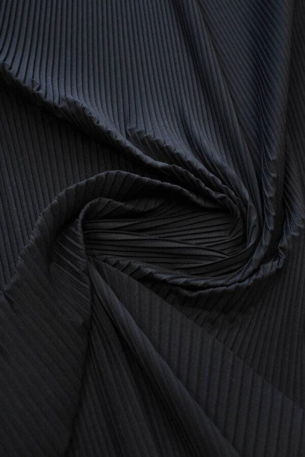 Плиссе сине-черное (8618) - Фото 8