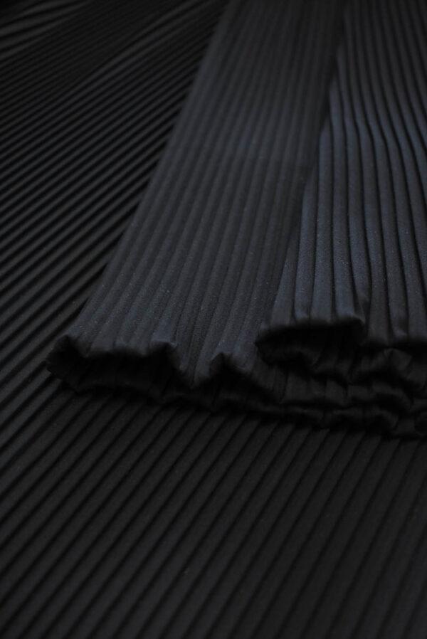 Плиссе сине-черное (8618) - Фото 9