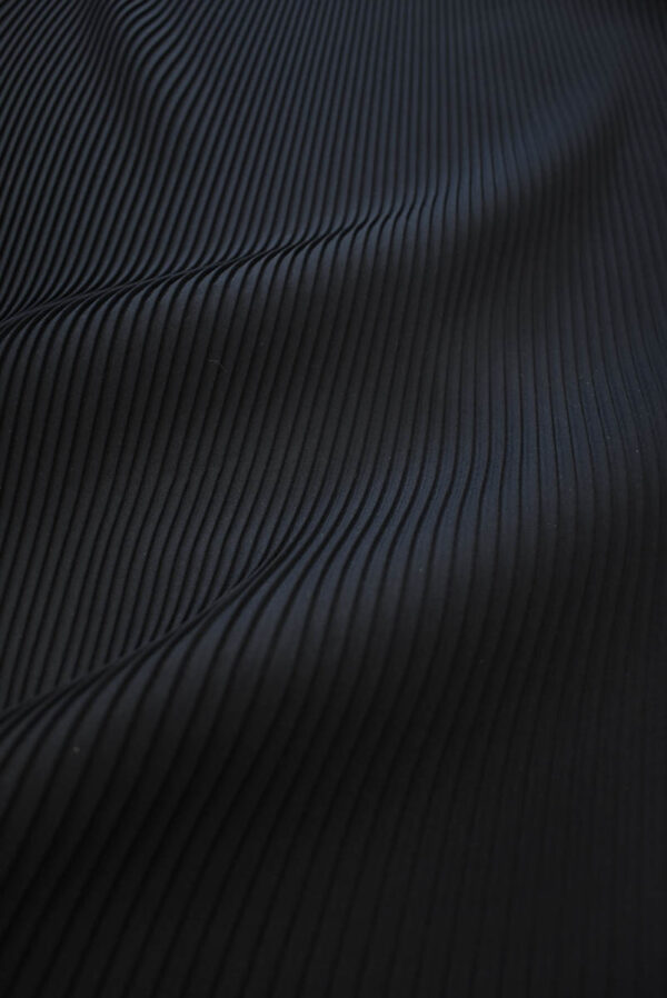Плиссе сине-черное (8618) - Фото 6