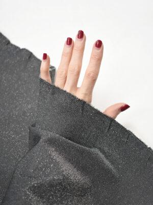 Джерси с люрексом темно-серый (8819) - Фото 17