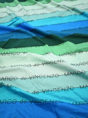 Трикотаж в разноцветную полоску с надписью (8887) - Фото 12