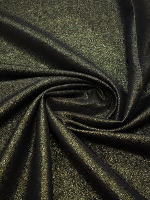 Костюмная ткань темно-оливковая с люрексом (8930) - Фото 17