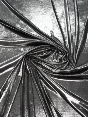 Трикотаж серебро с глянцевым блеском (8968) - Фото 12
