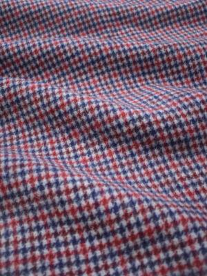 Пальтовая шерсть в мелкую куриную лапку (9033) - Фото 18