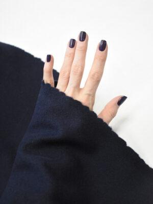 Пальтовая шерсть темно-синяя (9049) - Фото 11