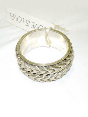 Браслет металл состаренное серебро (b0001) Д-1 - Фото 15