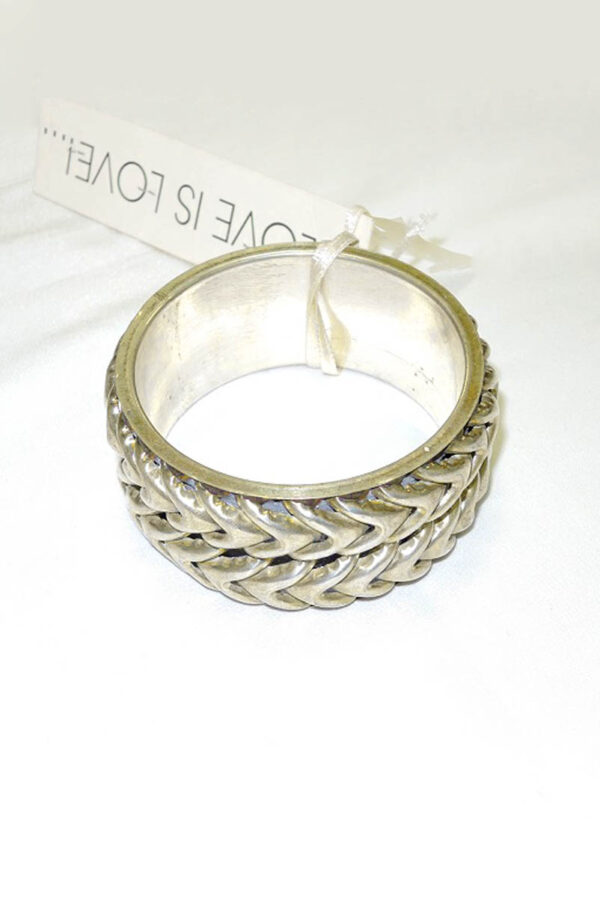 Браслет металл состаренное серебро (b0001) Д-1 - Фото 6