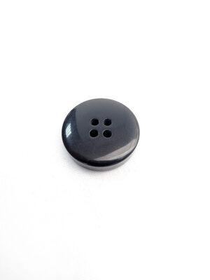 Пуговица пластик на четыре прокола черная (p0598) - Фото 23