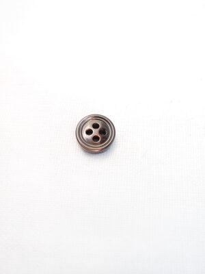 Пуговица блузочная пластик коричневая (p0627) - Фото 9