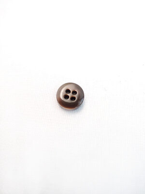 Пуговица блузочная пластик коричневая (p0627) - Фото 10