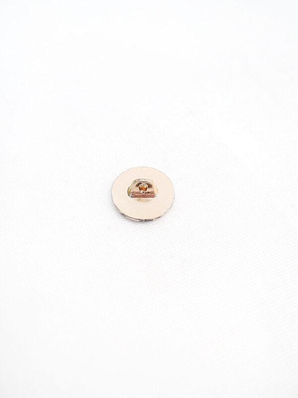 Пуговица металл маленькая в римском стиле (p0794) - Фото 7
