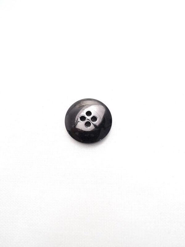 Пуговица черная глянцевая лакированная Divina (p0798) - Фото 8