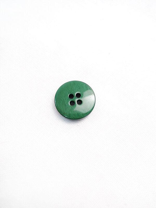 Пуговица пластик насыщенный зеленый перламутр Daks (p0803) к3 - Фото 8