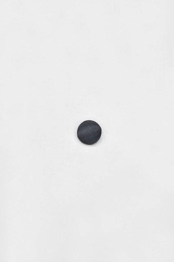Пуговица пластик атласная темный графит на ножке (p0843) - Фото 6