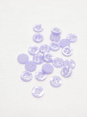 Пуговицы блузочные сиреневые пластик (р0969) - Фото 12