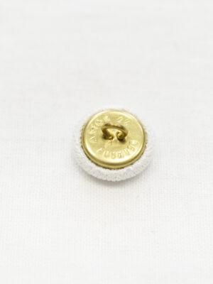 Пуговицы металл обтянутые белой тканью (р1148) - Фото 18