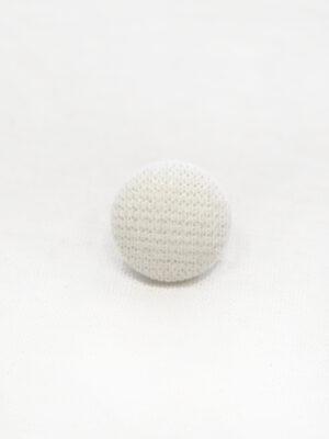 Пуговицы металл обтянутые белой тканью (р1148) - Фото 17
