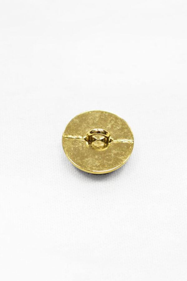 Пуговицы металл серые с золотом (р1155) к23 - Фото 9