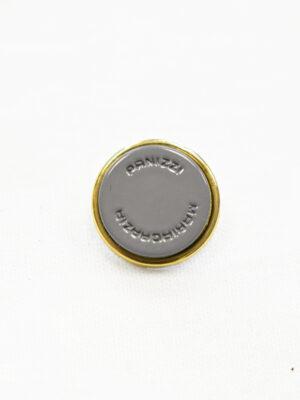 Пуговицы металл серые с золотом (р1155) - Фото 14