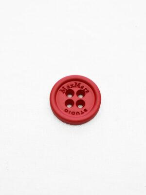 Пуговицы пластиковые красные на четыре прокола (р1158) - Фото 17