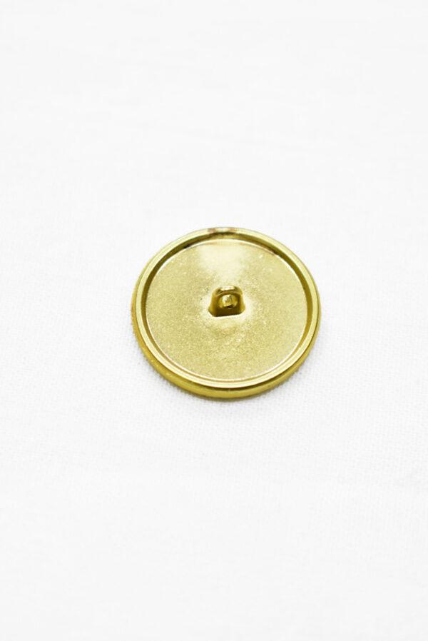 Пуговица металл с черной эмалью золотой всадник на лошади (p1165) к19 - Фото 9