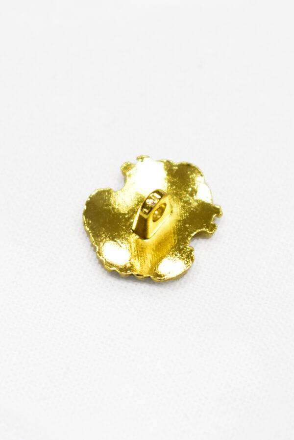 Пуговица металл золото в виде медальона (р1180) - Фото 7