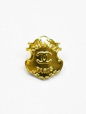 Пуговица металл золото в виде медальона (р1180) - Фото 16