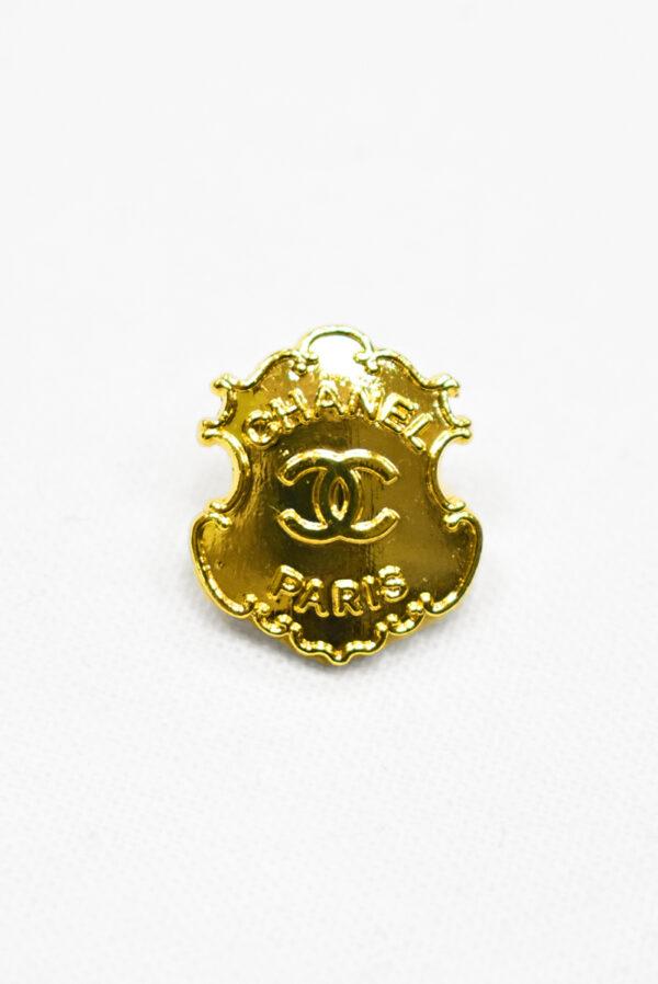 Пуговица металл золото в виде медальона (р1180) - Фото 6