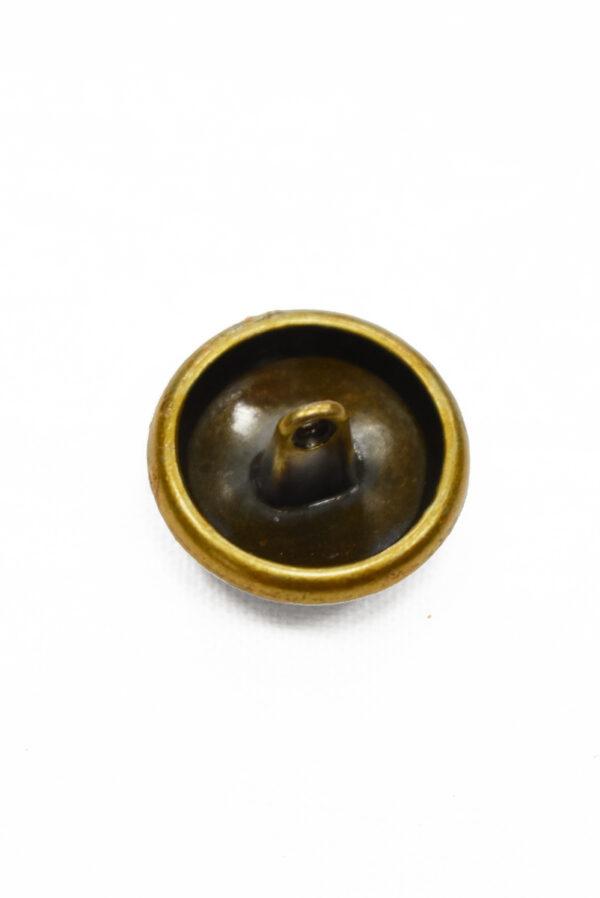 Пуговица металл латунь надпись 20мм (р1186) к19 - Фото 8