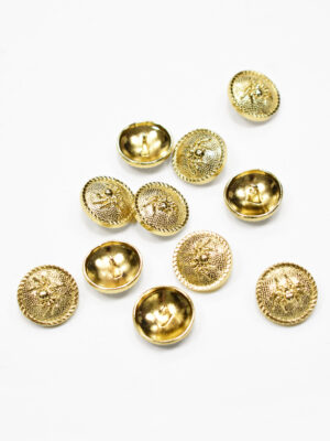 Пуговица металл золото паук (р1193) - Фото 21