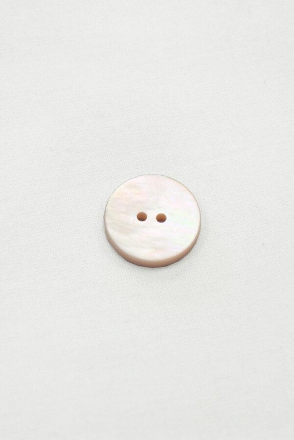 Пуговица перламутровая бледно-розовая