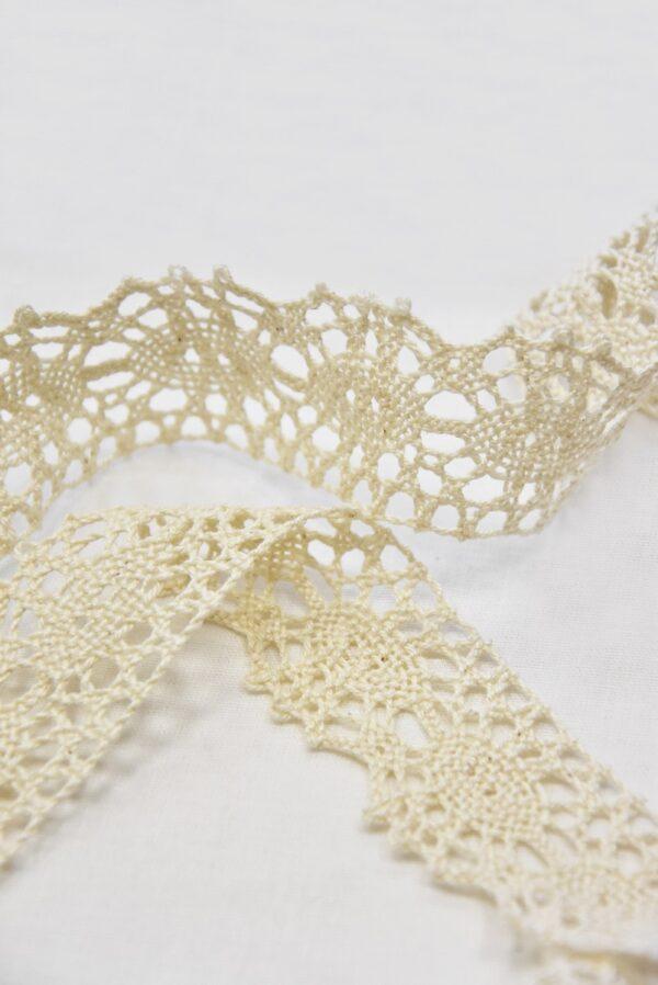 Тесьма льняная плетеная светлый беж (t0501) т-2 - Фото 8