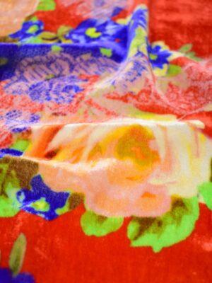 Бархат шелковый розы (0375) - Фото 14