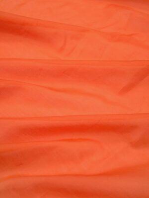 Батист шелковый оранжевый (1050) - Фото 16