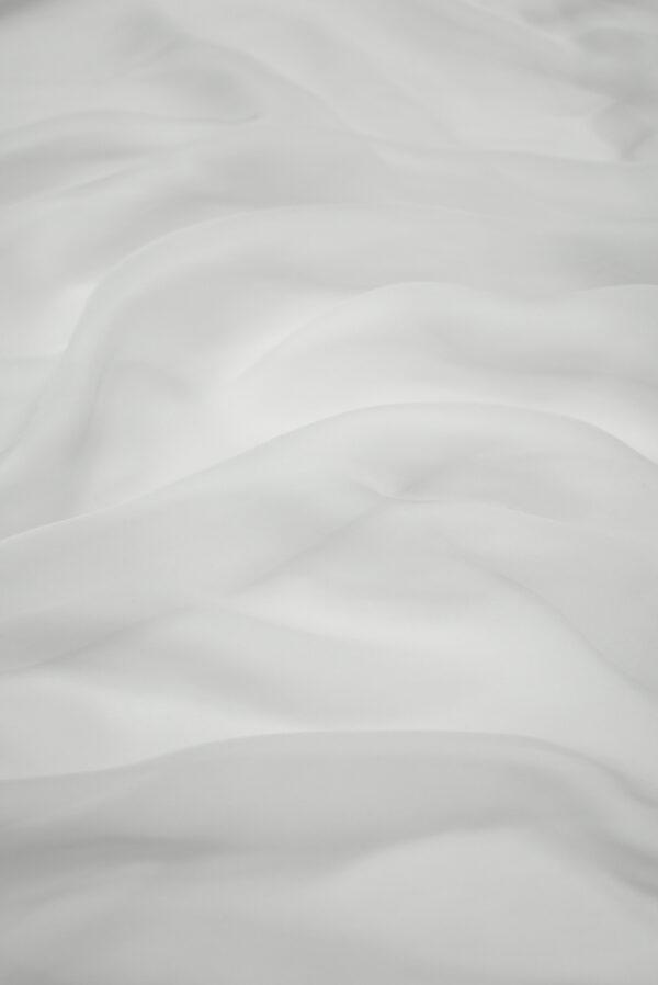 Шифон шелк серая пастель (1212) - Фото 6