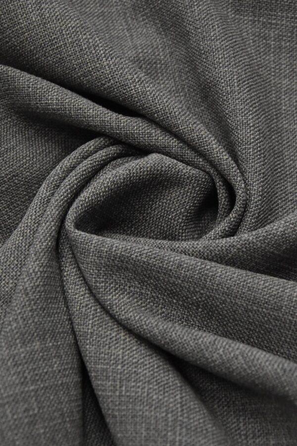 твид шерсть темно серый с зеленым оттенком (1308) - Фото 9